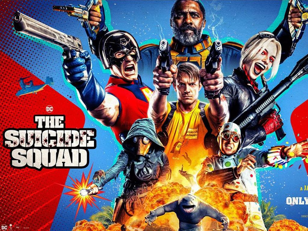 The Suicide Squad Quad Poster