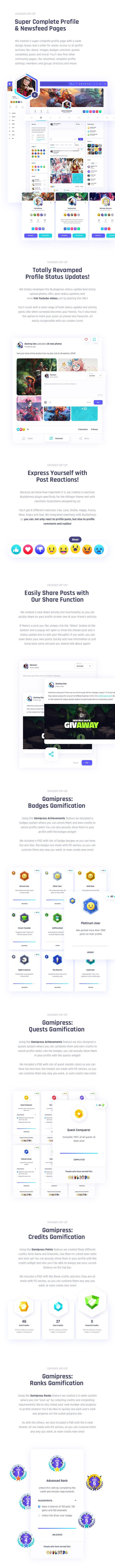 Vikinger - BuddyPress and GamiPress Social Community - 16