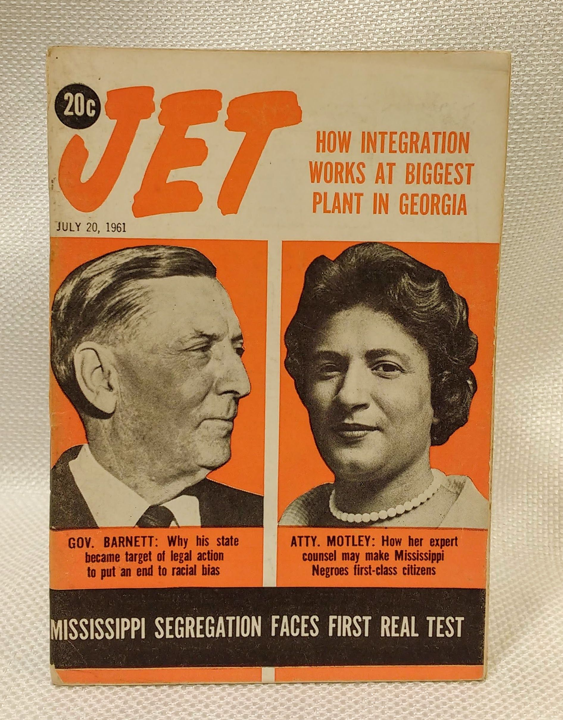 Jet Magazine July 20, 1961