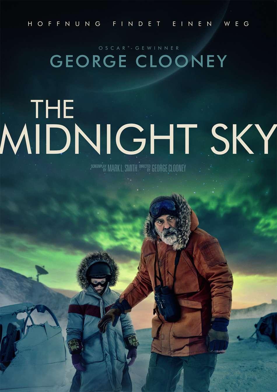 Ο Ουρανός του Μεσονυχτίου (The Midnight Sky) Poster