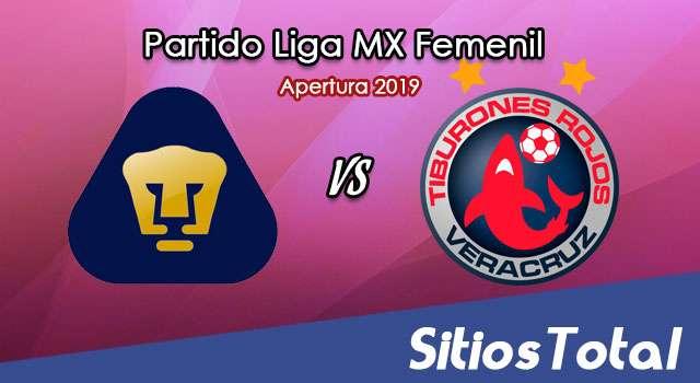 Ver Pumas vs Veracruz en Vivo – Liga MX Femenil – Apertura 2019 – Miércoles 21 de Agosto del 2019