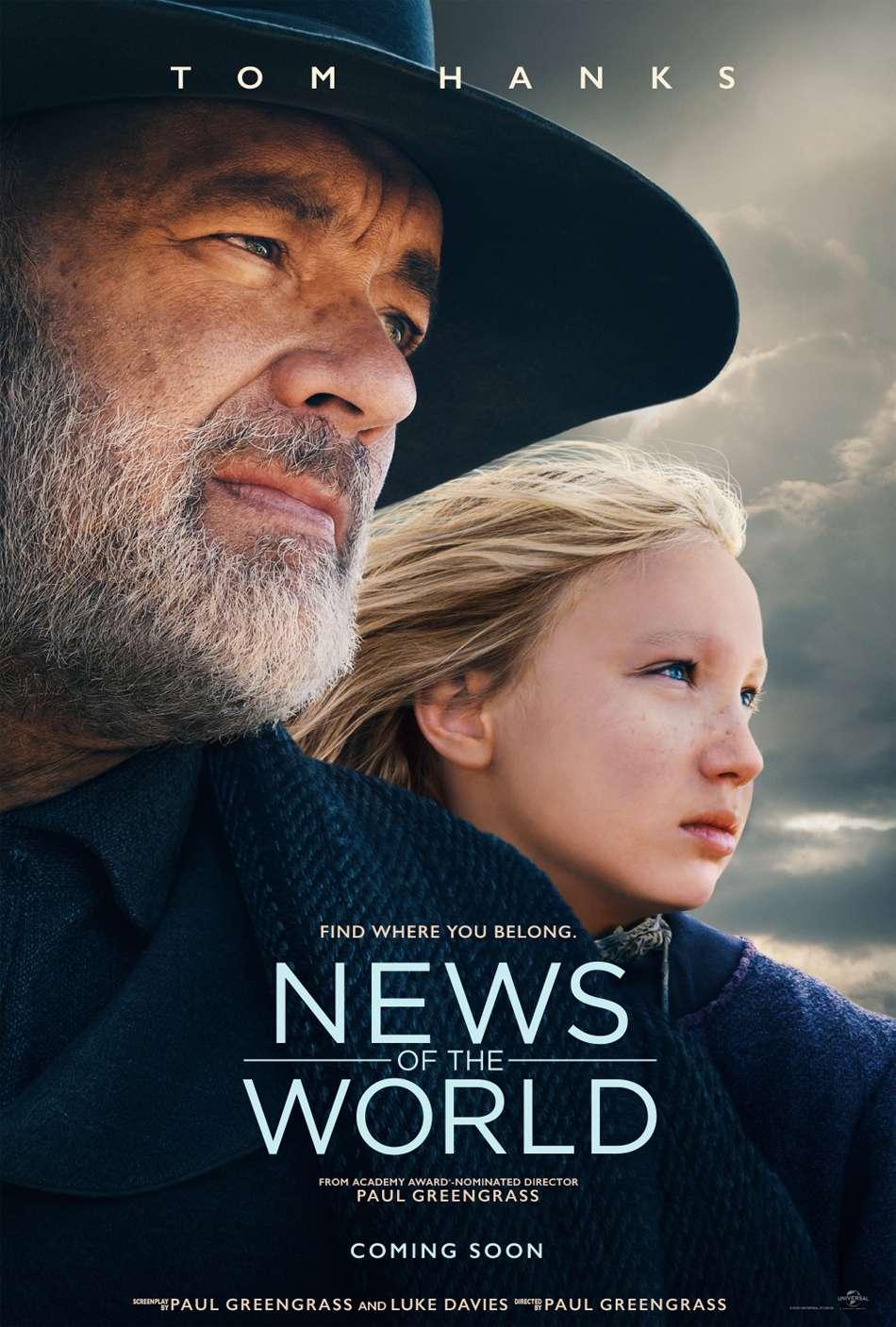 Του Κόσμου τα Νέα (News Of The World) Poster