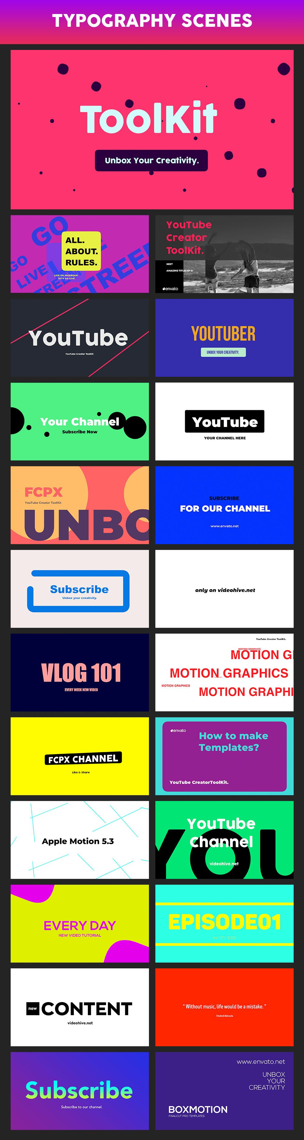 YouTube FCPX Creator Tool Kit - 54