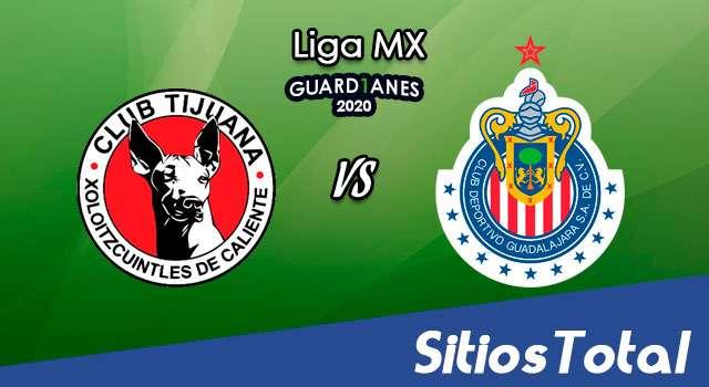 Xolos Tijuana vs Chivas en Vivo – Liga MX – Guardianes 2020 – Domingo 4 de Octubre del 2020