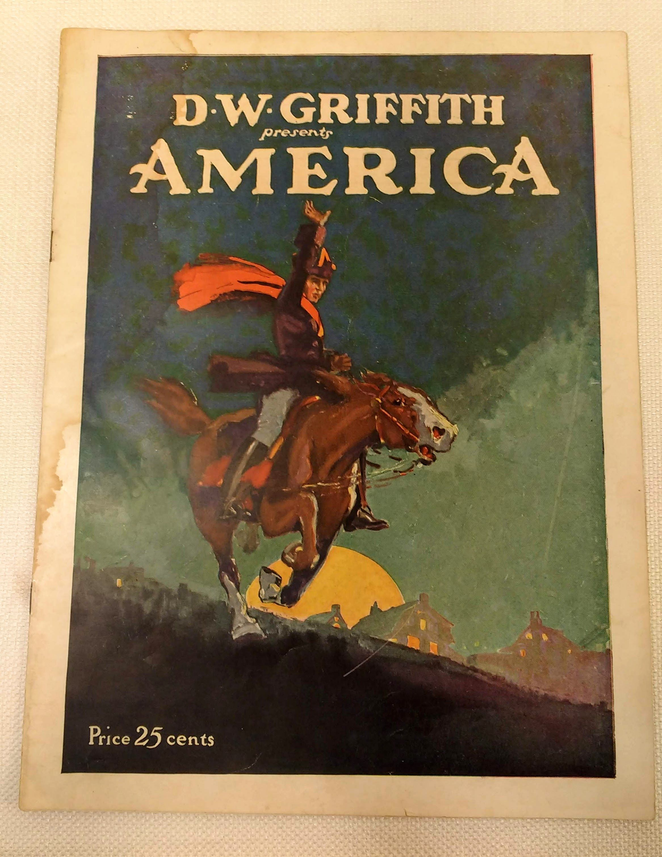 D.W. Griffith presents America [movie program], Griffith, D.W.; Grey, Albert L.