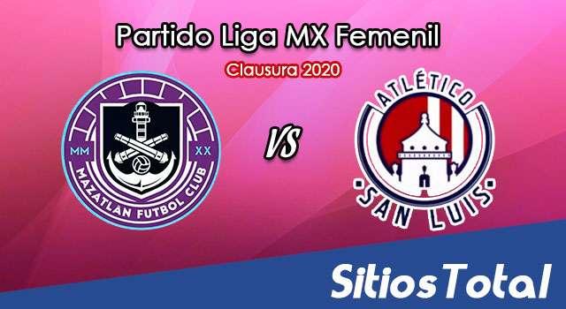 Ver Mazatlán FC vs Atlético San Luis en Vivo – Liga MX Femenil – Guardianes – Viernes 20 de Noviembre del 2020
