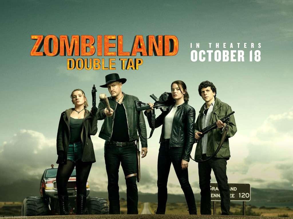 Zombieland: Διπλή βολή (Zombieland: Double Tap) Poster Πόστερ Wallpaper