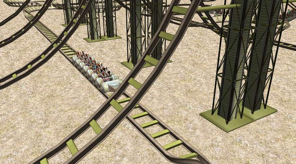 Demo Screenshot Image 05, My Downloads - Coasters, Rides, & Attractions - Coaster: Coeur de Force