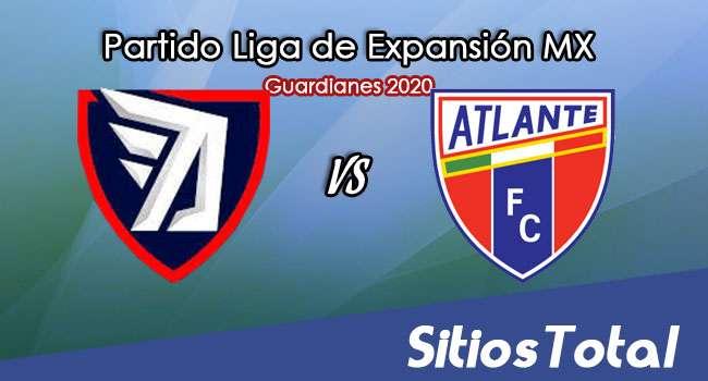Tepatitlán FC vs Atlante en Vivo – Liga de Expansión MX – Guardianes 2020 – Martes 20 de Octubre del 2020