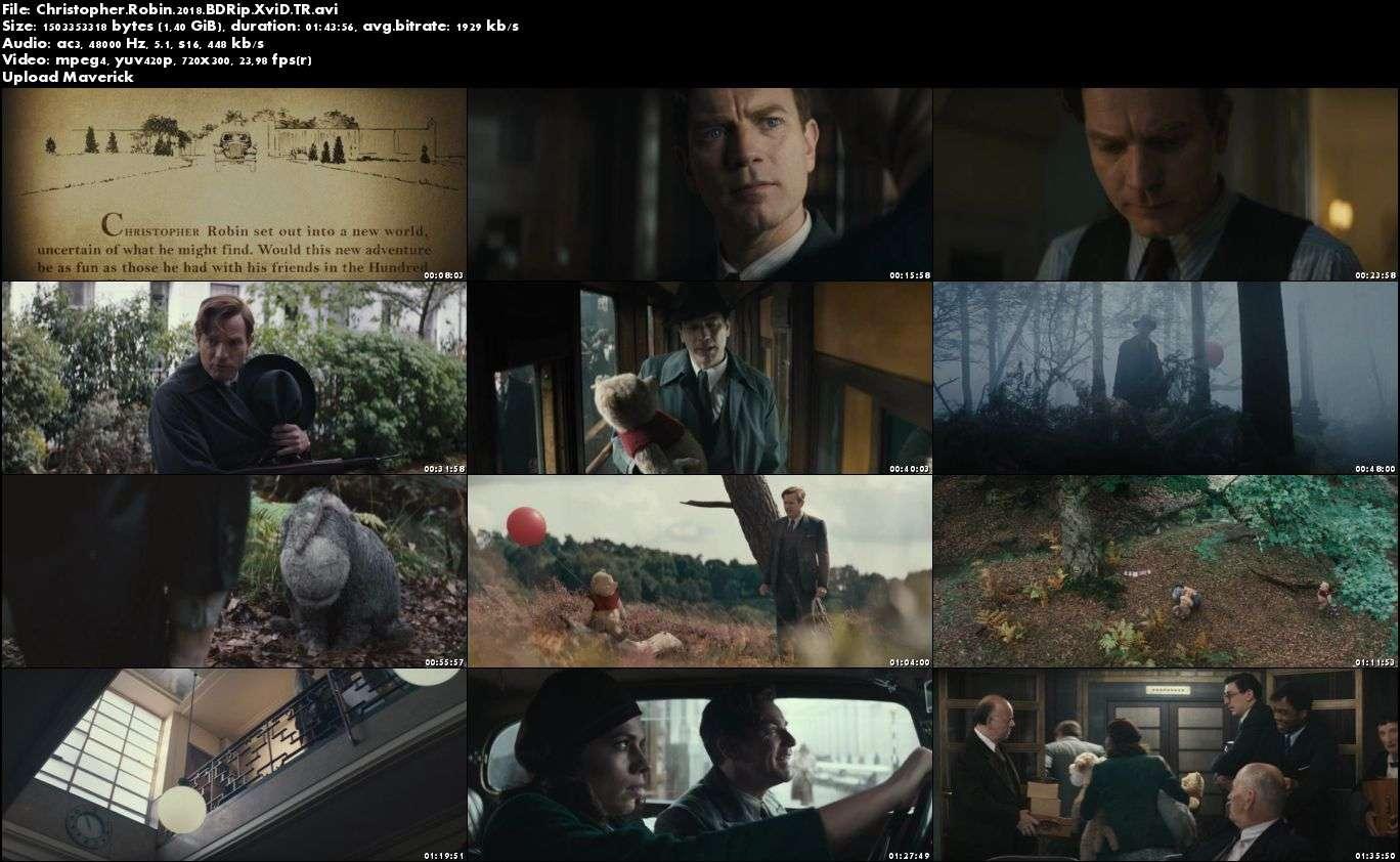 Christopher Robin - 2018 Türkçe Dublaj BDRip XviD indir