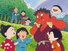 Naita Aka Oni (OVA)'s Cover Image