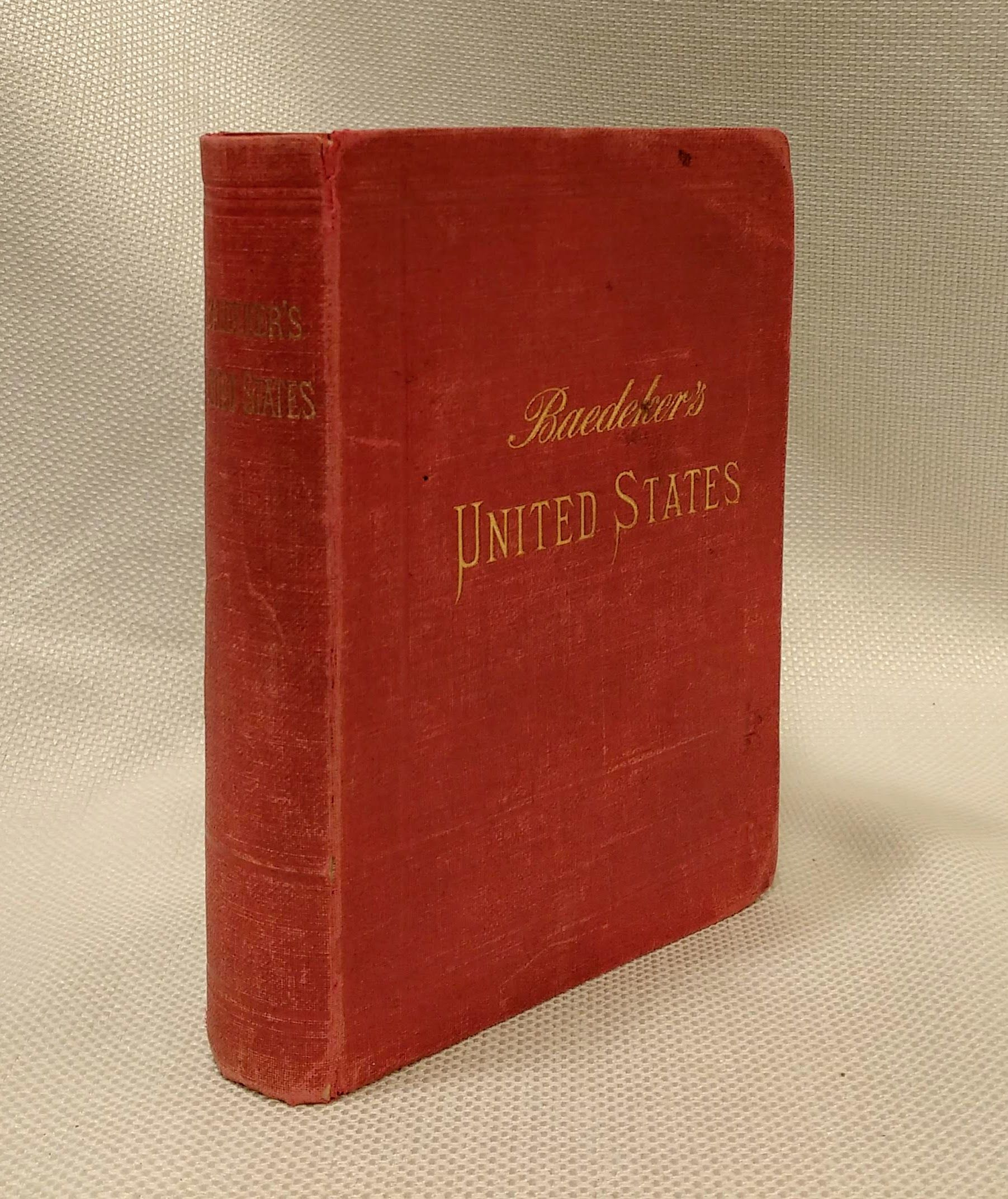 Baedeker's The United States With an Excursion into Mexico Handbook For Travellers. Third [ 3rd ] Revised Edition, Karl Baedeker, editor; J. F. Muirhead, author