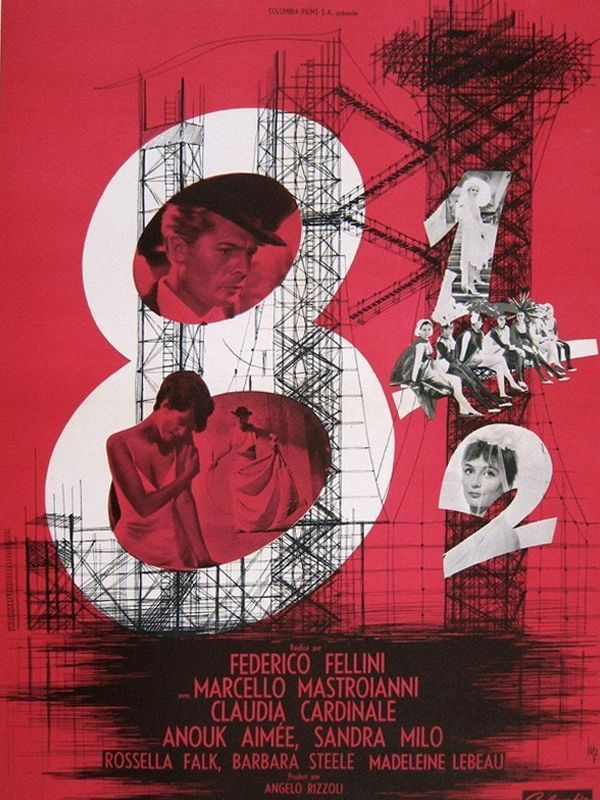 8 ½ Poster
