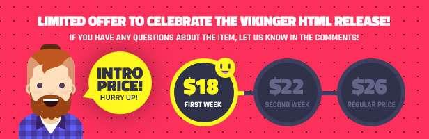 Vikinger - Social Community and Marketplace HTML Template - 2
