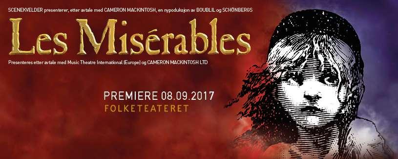 Les Misérables at Folketeateret