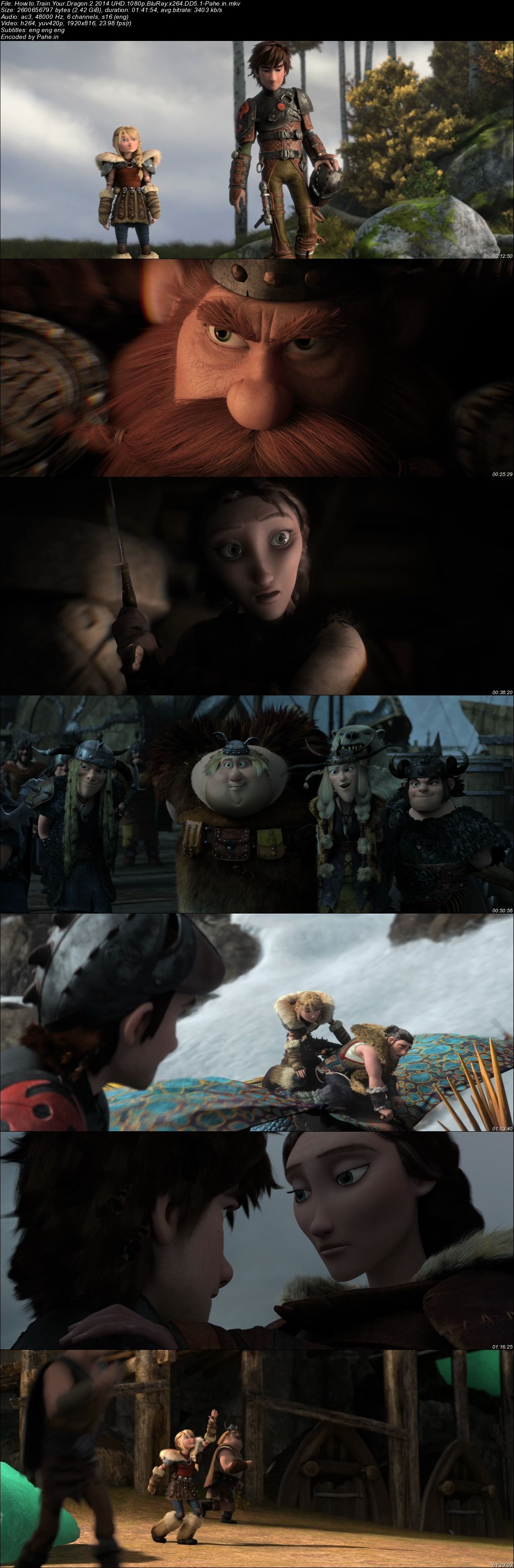 How to Train Your Dragon 2 (2014) UHD BluRay 720p & 1080p