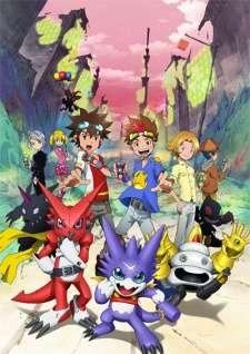 Digimon Xros Wars: Toki wo Kakeru Shounen Hunter-tachi's Cover Image