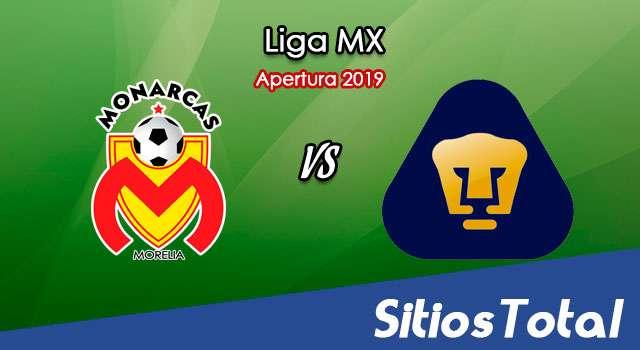 Ver Monarcas Morelia vs Pumas en Vivo – Apertura 2019 de la Liga MX