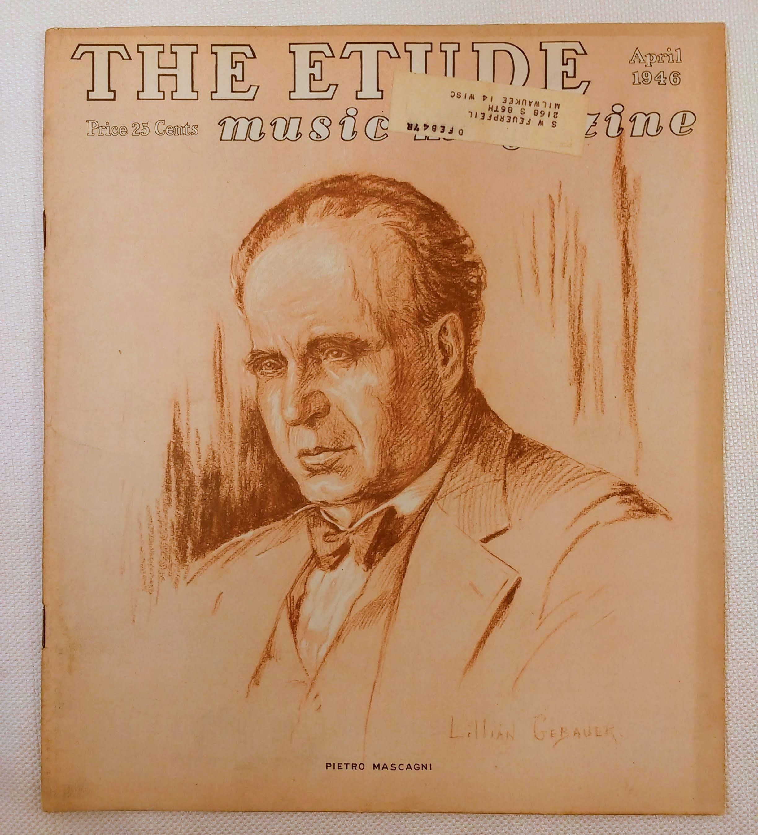 Image for The Etude Music Magazine: Volume LXIV, No. 4; April, 1946