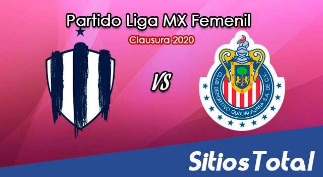 Ver Monterrey vs Chivas en Vivo – Liga MX Femenil – Guardianes – Lunes 5 de Octubre del 2020
