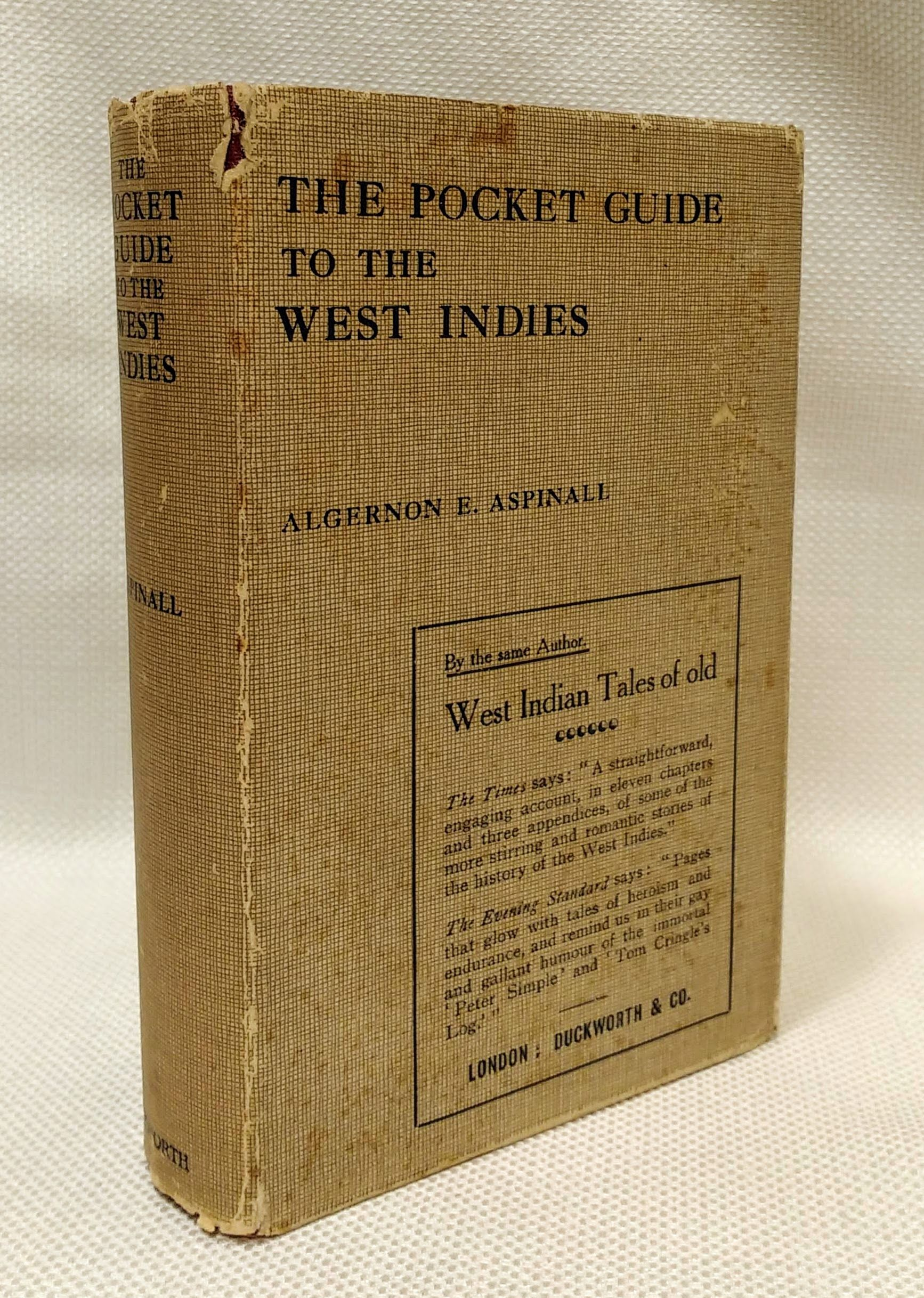 The Pocket Guide to the West indies [New and Revised edition, 1914], Aspinall, Algernon
