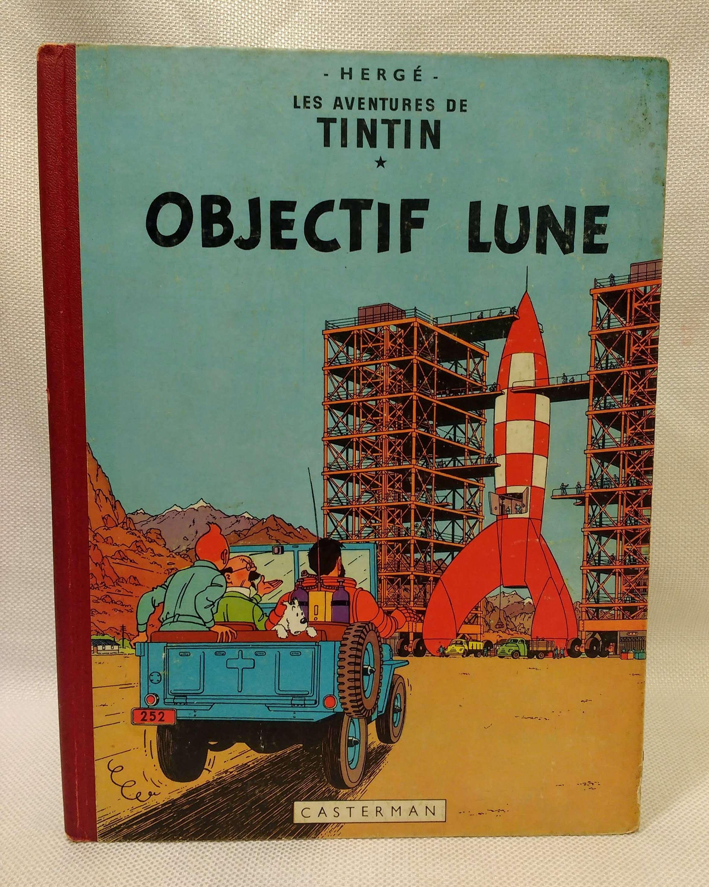 Les Adventures de Tintin: Objectif Lune, Herge
