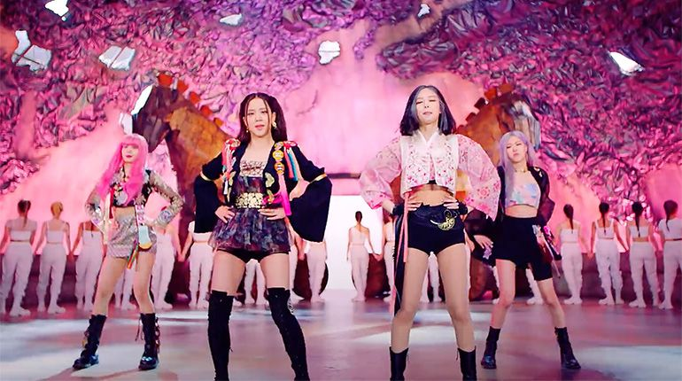 "The Modern Hanbok Outfits That BLACKPINK Wore in ""How You Like That"" Are Turning Heads"