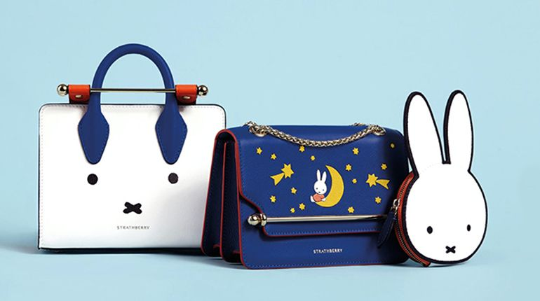 Miffy Celebrates 65th Birthday With a Strathberry X Miffy Collection