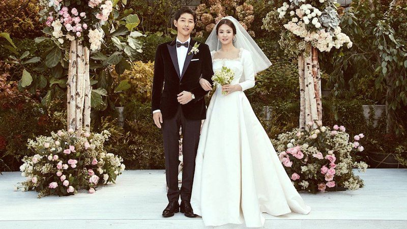 Dior Reveals How Song Hye Kyo S Wedding Dress Was Made