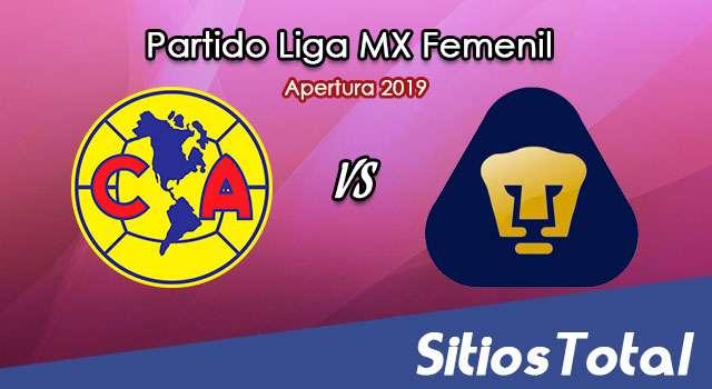 Ver América vs Pumas en Vivo – Liga MX Femenil – Apertura 2019 – Sábado 12 de Octubre del 2019