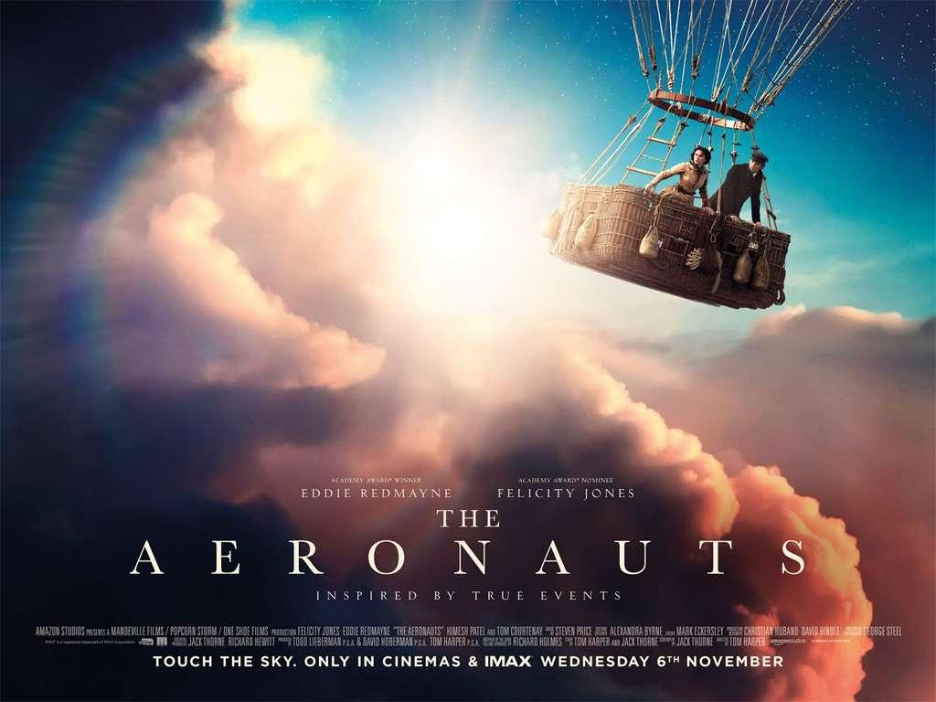 Οι Αεροναύτες (The Aeronauts) Quad Poster