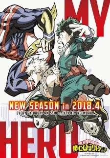 Boku no Hero Academia 3rd Season's Cover Image