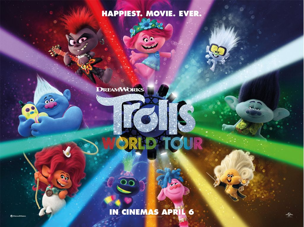Οι Ευχούληδες 2: Παγκόσμια Περιοδεία (Trolls World Tour) Quad Poster