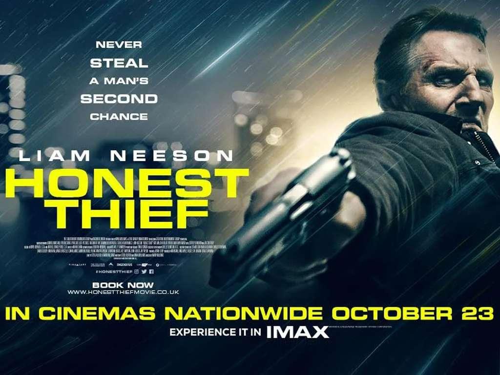 Έντιμος Κλέφτης (Honest Thief) Quad Poster