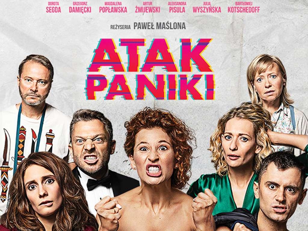 Κρίση Πανικού (Atak Paniki) Quad Poster Πόστερ