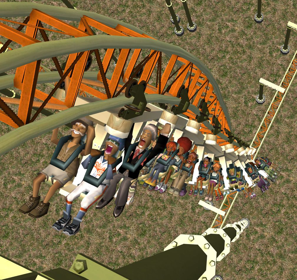 Demo Screenshot Image 03, My Downloads - Coasters, Rides, & Attractions - Coaster: The Red Asp