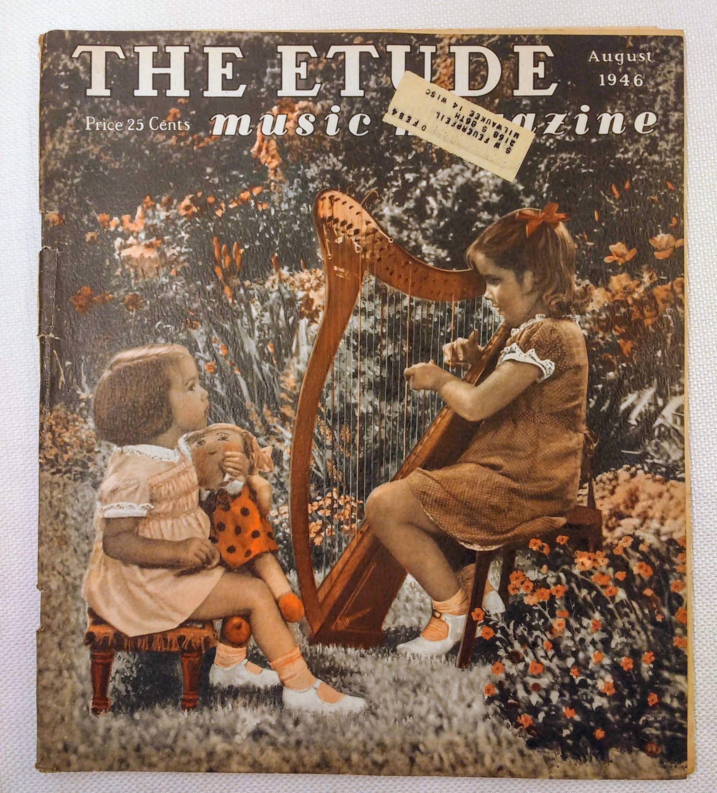 Image for The Etude Music Magazine: Volume LXIV, No. 8; August, 1946