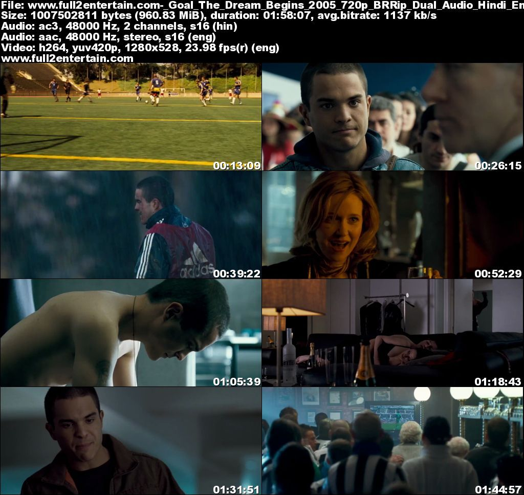 Goal The Dream Begins 2005 Full Movie Free Download HD 950mb
