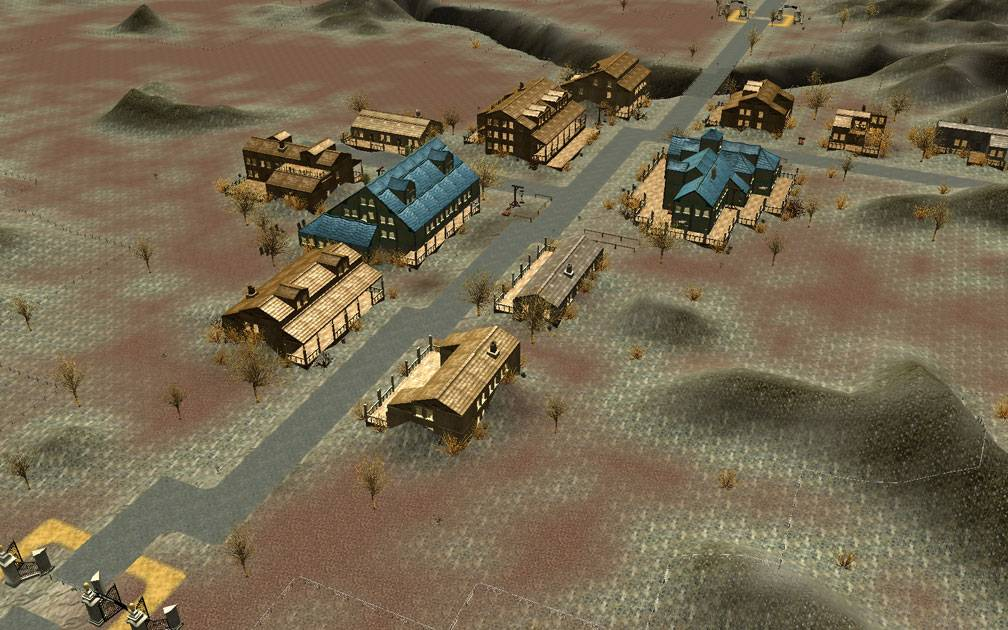 Secondary Image for FlightToAtlantis.net: RCT3 FAQ: Campaign Scenario Directory Specifics: Ghost Town