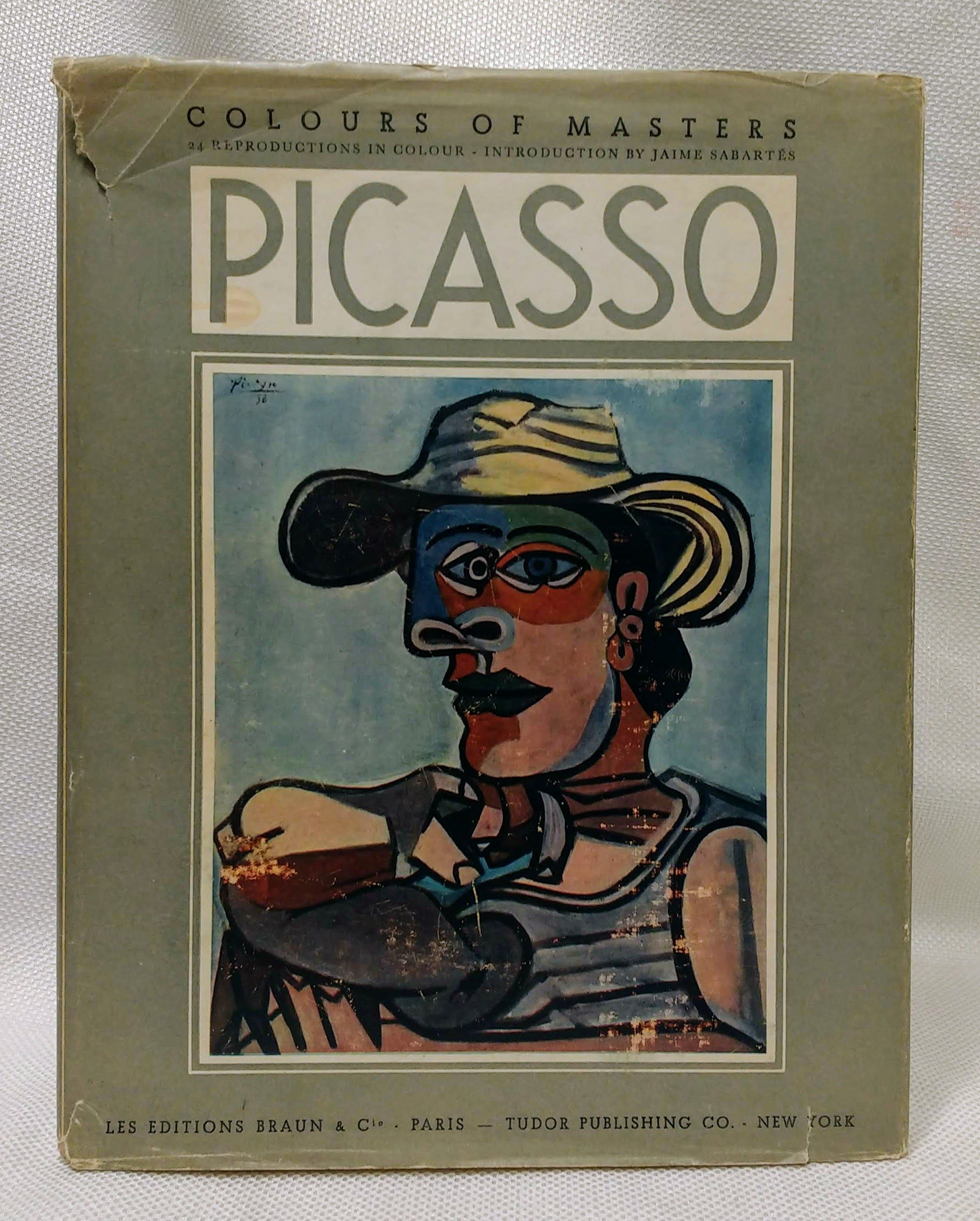 Paintings and Drawings of Picasso With a Critical Survey by Jaime Sabartes, Picasso, Pablo; Sabartes, Jaime [introduction]