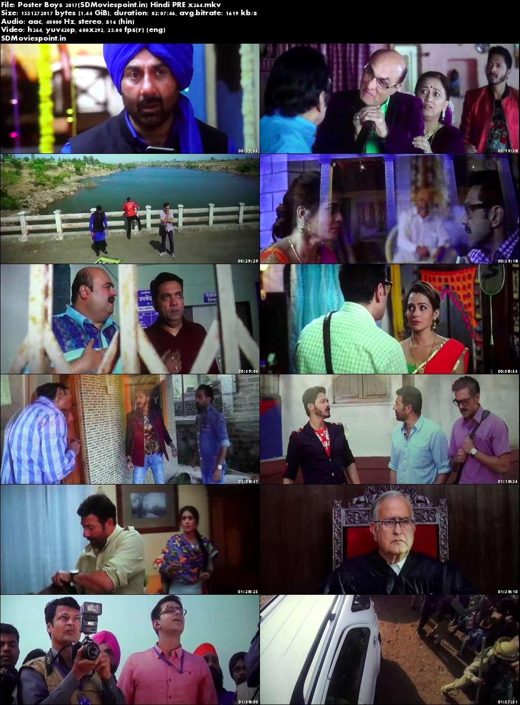 Screen Shots Poster Boys 2017 Full Hindi Movie Download Free 720p