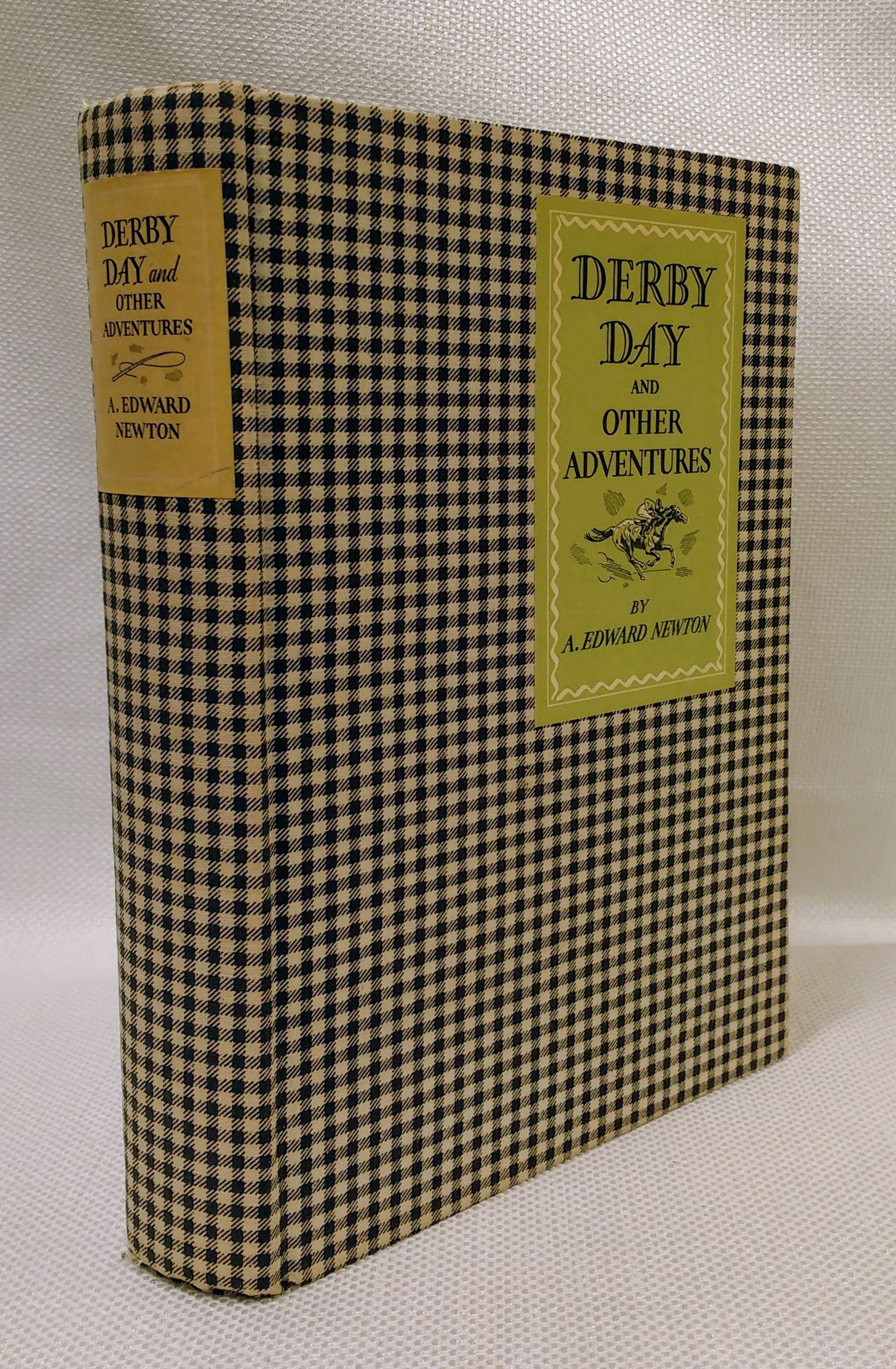Derby Day and Other Adventures, Newton, A. Edward