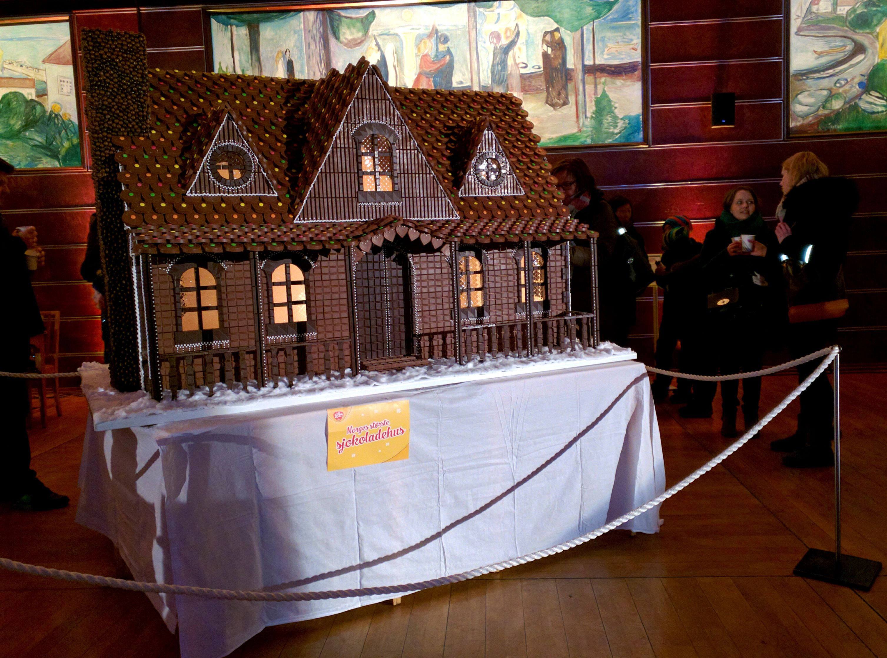 Norway's largest chocolate house