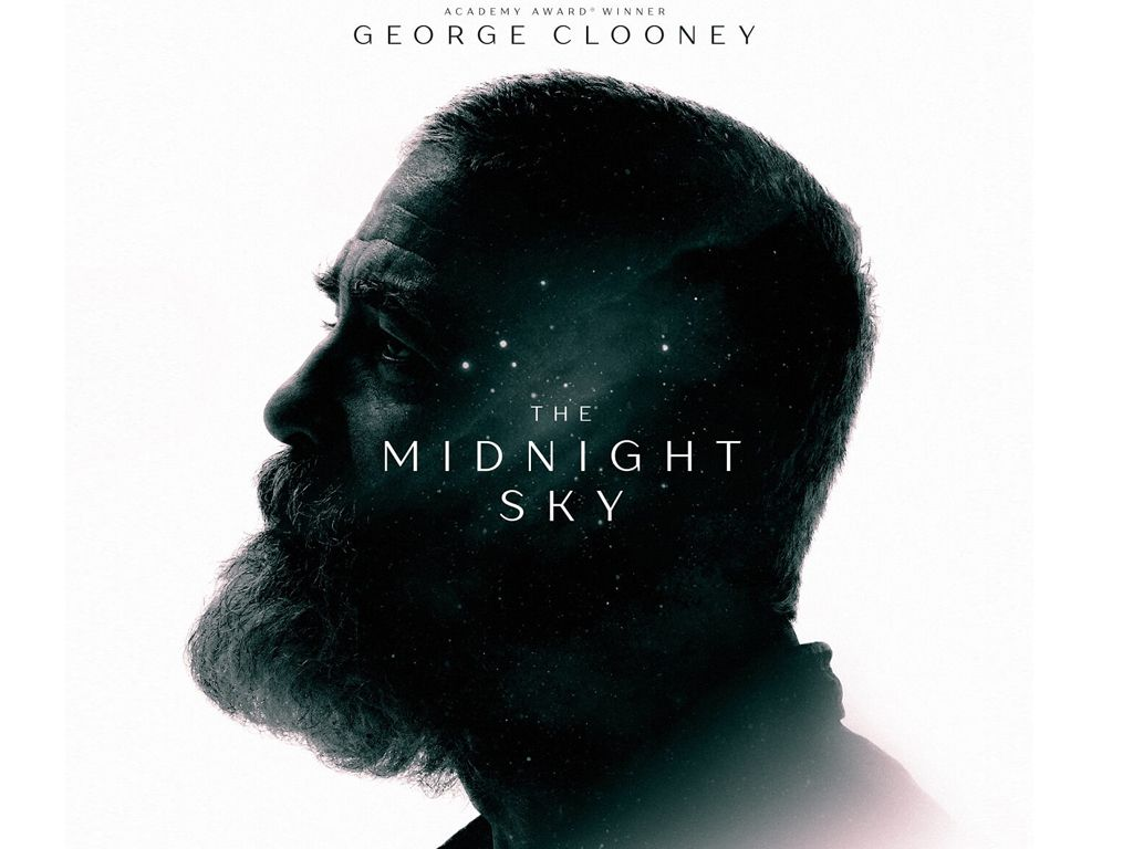 Ο Ουρανός του Μεσονυχτίου (The Midnight Sky) Quad Poster