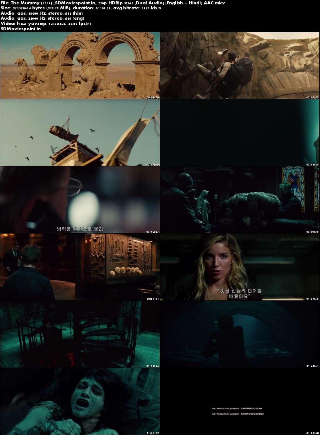 Screen Shot The Mummy (2017) Full Hindi Movie Download HD Dual Audio