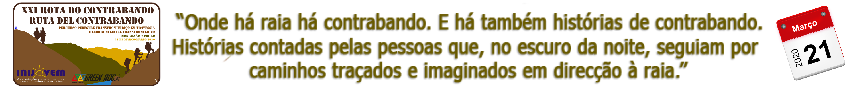 XXI ROTA DO CONTRABANDO - 2020