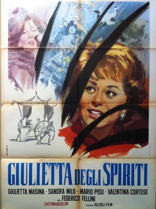 Giulietta degli spiriti Η ΙΟΥΛΙΕΤΑ ΤΩΝ ΠΝΕΥΜΑΤΩΝ Poster