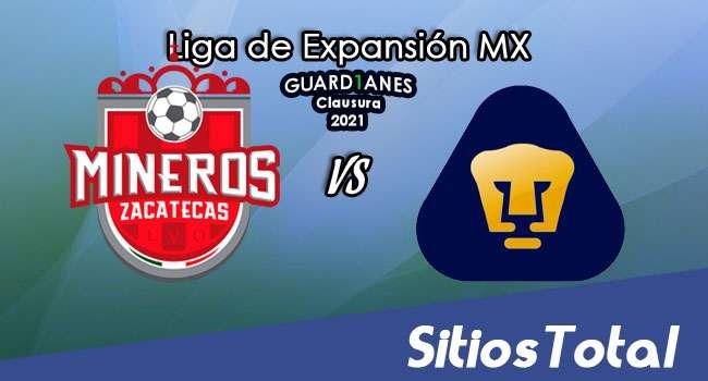 Mineros de Zacatecas vs Pumas Tabasco en Vivo – Canal de TV, Fecha, Horario, MxM, Resultado – J3 de Guardianes Clausura 2021 de la  Liga de Expansión MX