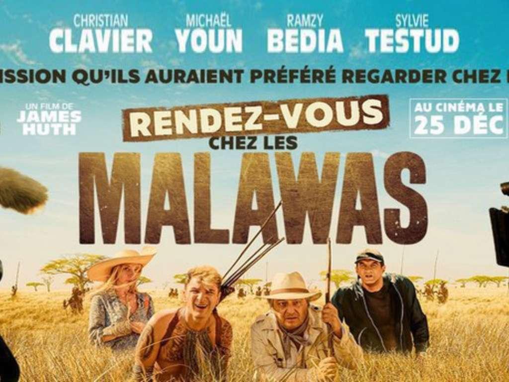 Ραντεβού με τους Μαλάουα (Rendez-Vous Chez Les Malawas) Quad Poster