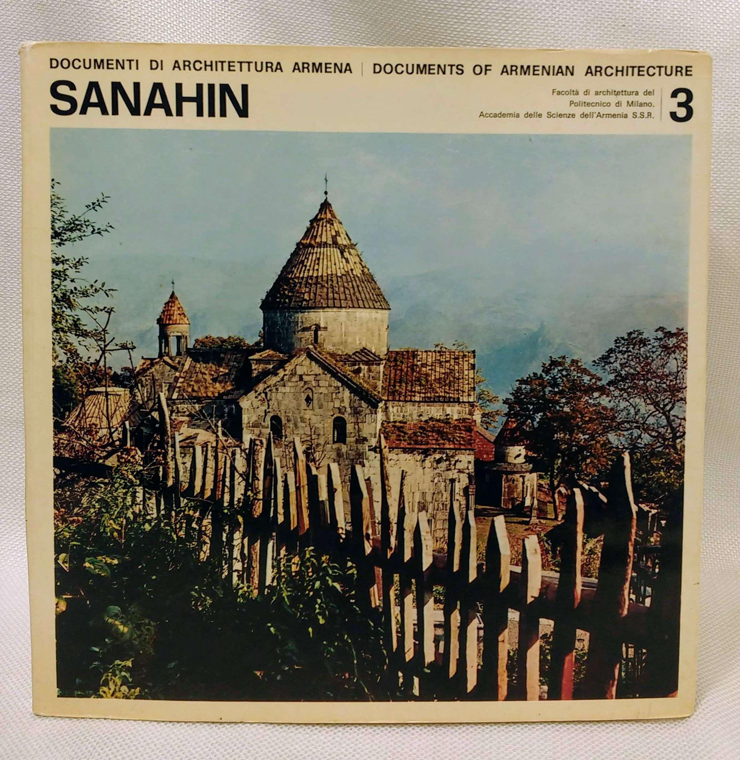 Documents of Armenian Architecture 3: Sanahin, Documents of Armenian Architecture